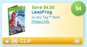 Leap Frog TAG book