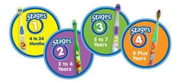 Oral-B Stages Kids Toothbrushes and Toothpaste