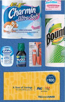 P&G savings coupon booklet rebate