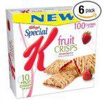 special K fruit crisps