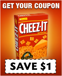 picture about Cheez It Coupon Printable referred to as Printable Coupon Inform: Cheez It Coupon - Koupon Karen