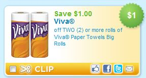 graphic regarding Viva Printable Coupons identified as Printable Coupon Inform: Viva Paper Towels - Koupon Karen