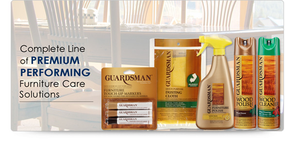 Guardsman Furniture Care Products Review