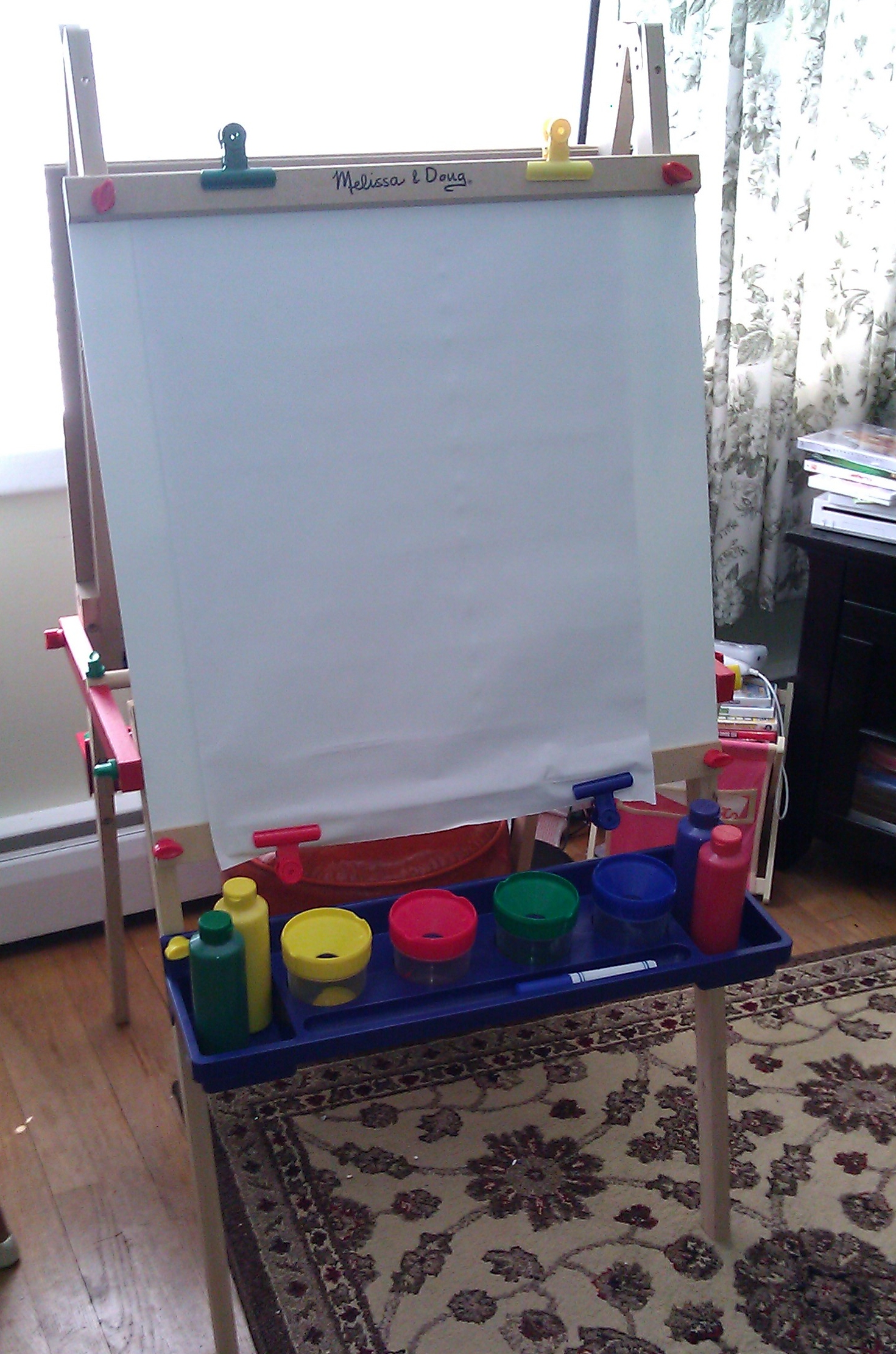 Melissa Doug Easel And Supply Set Review Giveaway Ended Koupon