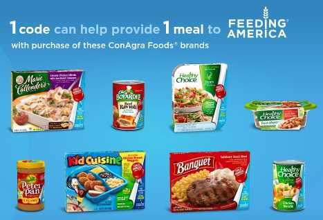 new conagra printable coupons peter pan healthy choice banquet