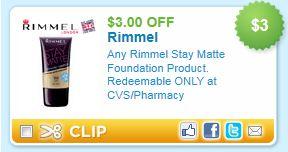 photograph relating to Rimmel Coupons Printable known as $3.00 Rimmel Continue to be Matte CVS Printable Coupon - Koupon Karen