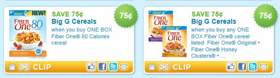 graphic about Printable Cereal Coupons named Fiber One particular Cereal Printable Discount coupons - Koupon Karen