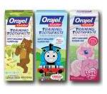 Children's Orajel Printable Coupon