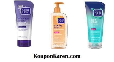 Clean & Clear Printable Coupons