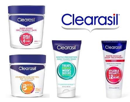 Clearasil Printable Coupon