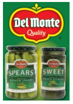 graphic relating to Del Monte Printable Coupons named Del Monte Pickles Printable Coupon - Koupon Karen