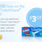 Toilet Wand by Clorox Printable Coupon