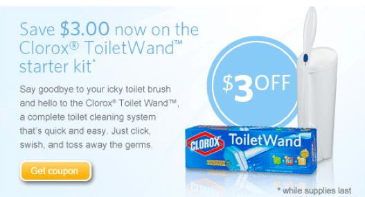 clorox toilet wand coupon 2019
