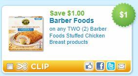 Barber Foods Coupon : Barber Foods Printable Coupon - Koupon Karen