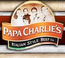 Papa Charlie's Italian Style Beef Printable Coupons