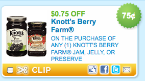 picture regarding Knotts Berry Farm Printable Coupons titled Knotts Berry Farm Jam, Jelly or Keep Printable Coupon