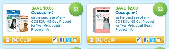 cosequin cat and dog product coupons. Black Bedroom Furniture Sets. Home Design Ideas