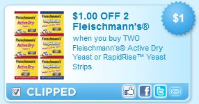 Fleischmann's Yeast Coupon