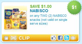 image relating to Nabisco Printable Coupons referred to as Nabisco Treats Printable Coupon - Koupon Karen