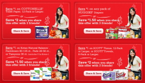 print several new coupons for kimberly clark products valid for use at h e b stores