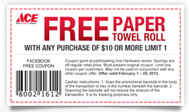 graphic relating to Ace Hardware Printable Coupon referred to as Ace Components Printable Coupon - Koupon Karen