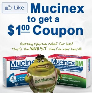 photograph about Mucinex Printable Coupon referred to as Mucinex Printable Coupon - Koupon Karen