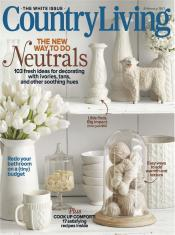Country Living Magazine Only $6.99 a Year