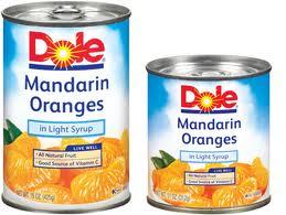 Dole Mandarin Oranges: starts 5/14, exp. 06/10/ Buy 3+ Get $, Using this $/2 DOLE Canned Fruit coupon, we can score 4 cans of Dole Mandarin Oranges 11oz for FREE + $ Money maker after coupon and Catalina. Here is your deal at ShopRite starting 5/ This List Has Expired.