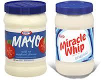 Kraft Miracle Whip and Mayo
