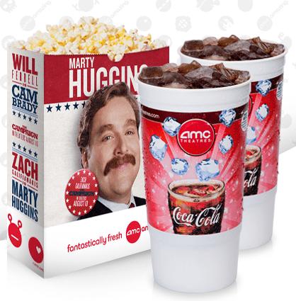 image regarding Amc Printable Coupons referred to as AMC Theatres 50% off Combinations Printable Coupon - Koupon Karen