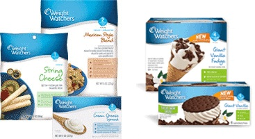 picture relating to Weight Watchers Printable Coupons titled Body weight Watchers Cheese and Ice Product Printable Discount coupons