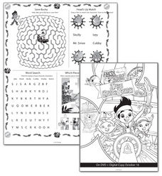 FREE Jake and the Neverland Pirates Activity Sheets