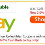 Ebates Double Cash Back | Up to 6% back from ..