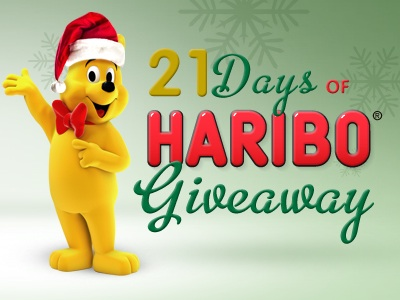 21 Days of Haribo Giveaway on Facebook