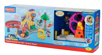 Fisher-Price Little People Surprise Sounds Fun Park & Ferris Wheel Playset only $33.99 (reg $69.99)