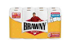 photo regarding Brawny Printable Coupons titled Brawny Paper Towels Printable Coupon Walmart Package deal