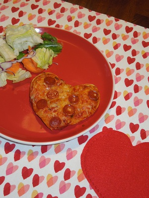 Heart Pizza Pizza Diner