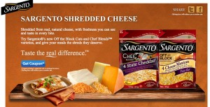 photo about Sargento Printable Coupon referred to as Sargento Shredded Cheese basically $2.26 with Printable Coupon