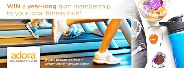 adora gym giveaway