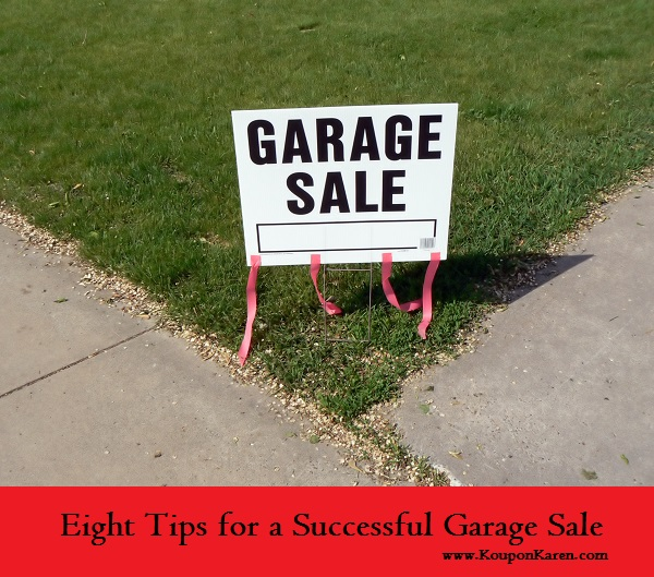 Eight Tips for a Successful Garage Sale