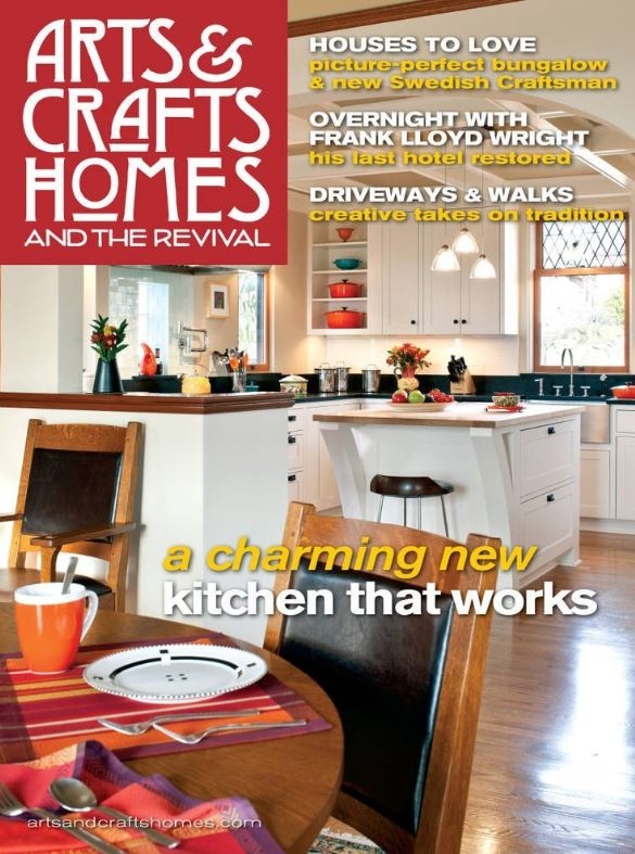 Arts crafts homes magazine only a year for Arts and crafts home magazine