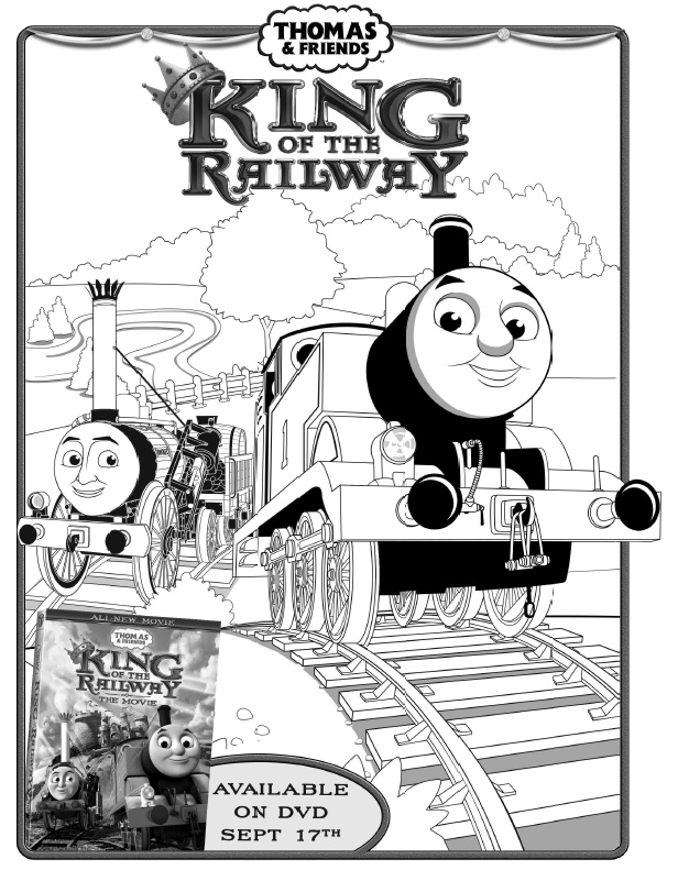 Thomas And Friends Coloring Pages Pdf Thomas The Train Coloring ...