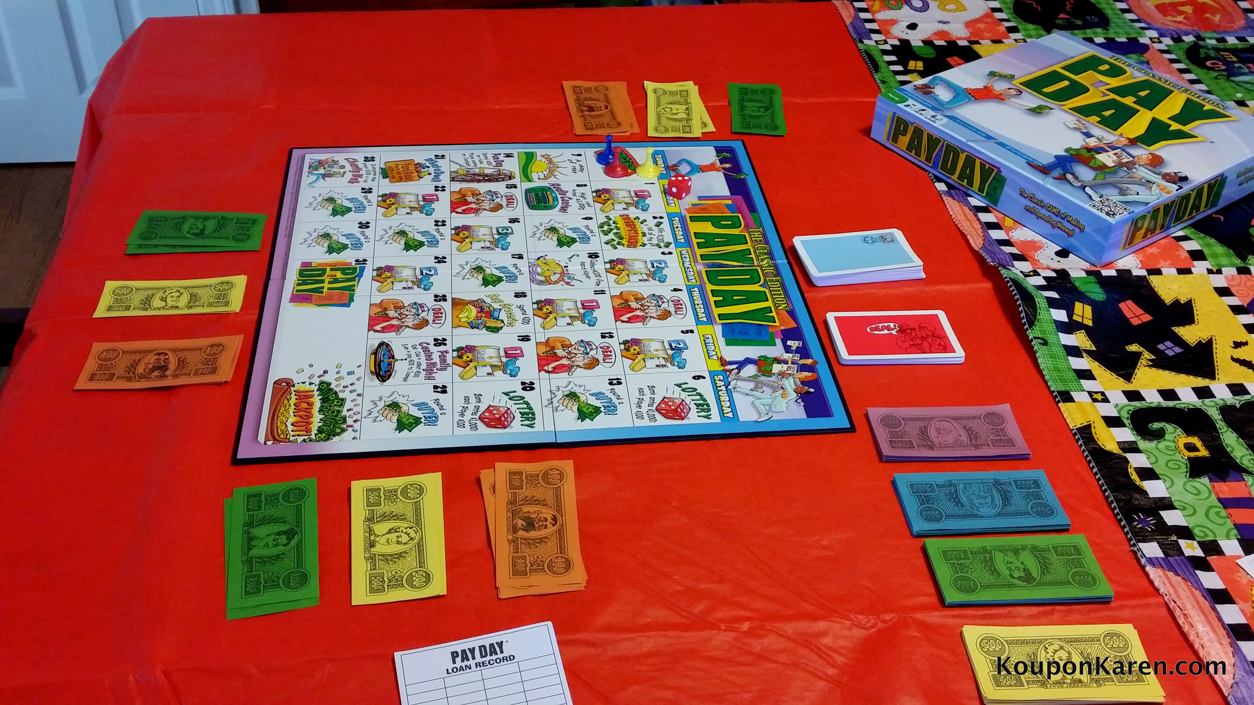PayDay The Classic Board Game