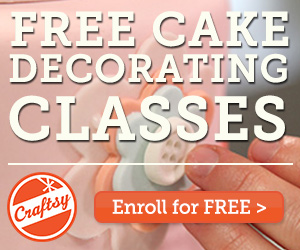FREE Online Cake Decorating Classes at Craftsy and More
