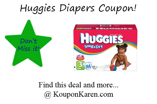 photograph about Printable Huggie Coupons identify Huggies Printable Discount codes - Print them just before they are long gone!