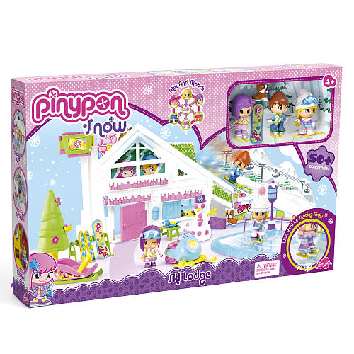 pinypon snow ski lodge