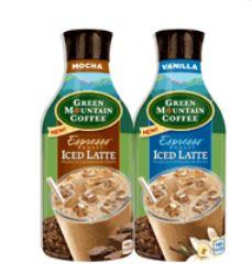Green Mt. Coffee Espresso Iced Latte