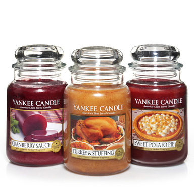 Yankee Candle Thanksgiving