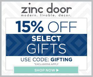 zinc door