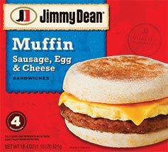 Jimmy Dean Breakfast Sandwichs Only 5 22 At Walmart Koupon Karen